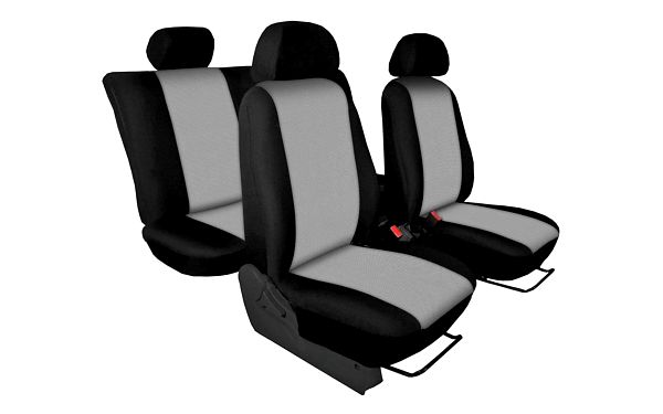 Autopotahy pro vozy – Torino světle šedé5