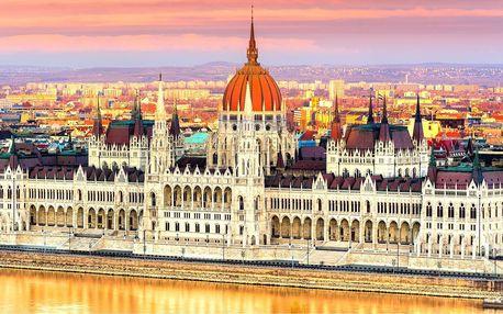 Valentýn v maďarských lázních a Budapešti, 1 noc