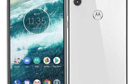 Motorola One Dual SIM bílý (PAD40025RO)