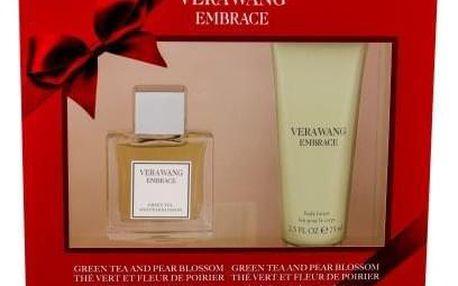 Vera Wang Embrace Grean Tea and Pear Blossom dárková kazeta pro ženy toaletní voda 30 ml + tělové mléko 75 ml