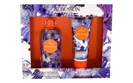 Aubusson First Moment dárková kazeta pro ženy parfémovaná voda 100 ml + tělové mléko 100 ml