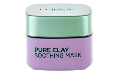 L´Oréal Paris Pure Clay Soothing Mask 50 ml zklidňující jílová maska pro citlivou pleť pro ženy