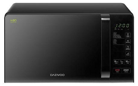 DAEWOO KQG 6S3BK černá