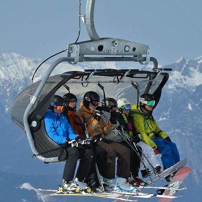 Jednodenní lyžování v rakouských Alpách ve skiareálu Semmering - Stuhleck