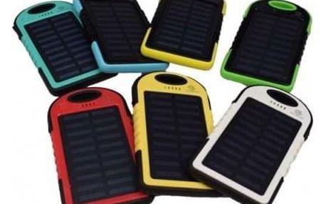 Solární nabíječka se svítilnou - powerbanka