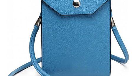 Dámské modré pouzdro na mobil Zolla 1806