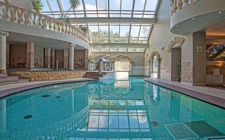 Szczryk, hotel Klimczok Resort & SPA**** s wellness ve stylu římských lázní
