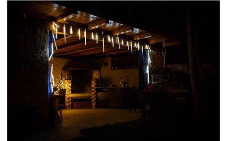 Marimex   Rampouchy s tekoucím efektem 446 LED - studená bílá, 20 ks (3 různé velikosti)   18000456