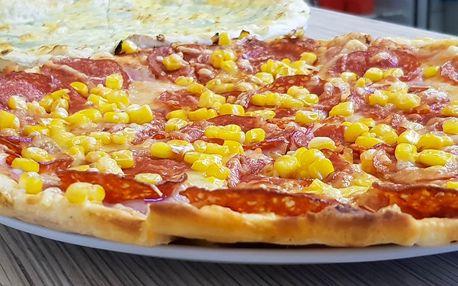 Pizza do krabice pro 1-2 os., výběr z mnoha druhů