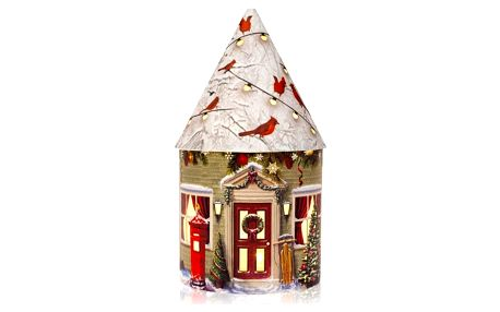 Marimex   Svítící vánoční domeček 5 LED - bílá   180004773