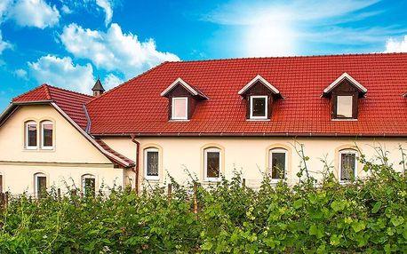 Pobyt na jižní Moravě se snídaní či polopenzí