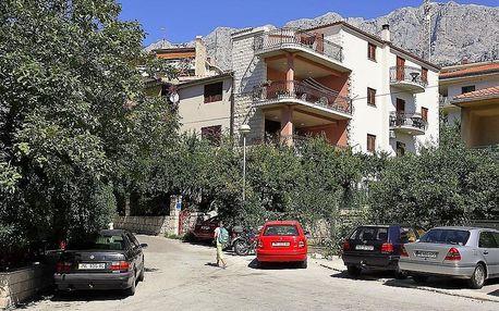 Chorvatsko - Makarská riviéra na 8 až 10 dní, bez stravy nebo polopenze s dopravou autobusem, Makarská riviéra