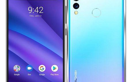 Mobilní telefon UMIDIGI A5 Pro Dual SIM modrý (UMI000056)