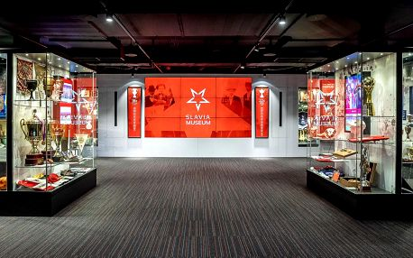 Za historií fotbalu: vstupenky do Slavia Muzea