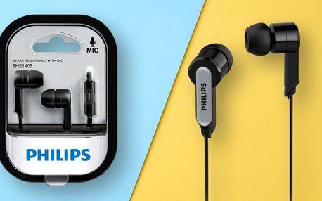 Kompaktní sluchátka Philips s mikrofonem