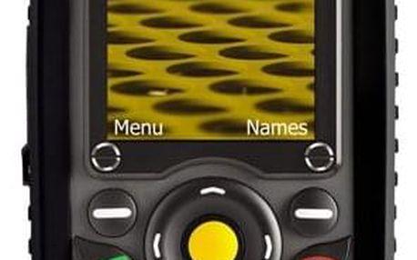 Mobilní telefon Caterpillar CAT B25 černý (TECH-GSM2-00220)