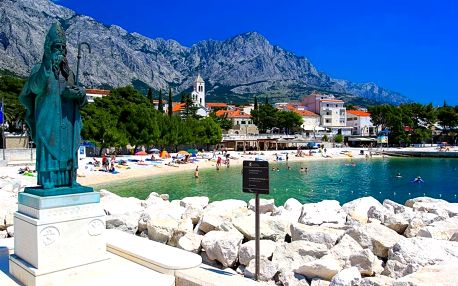 Chorvatsko - Baška Voda na 10 dní, polopenze s dopravou autobusem, Baška Voda