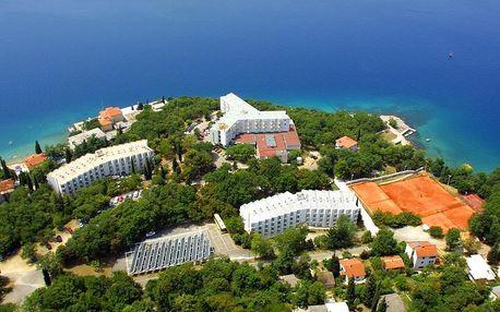 Chorvatsko - Krk na 10 dní, polopenze nebo s dopravou autobusem, Krk