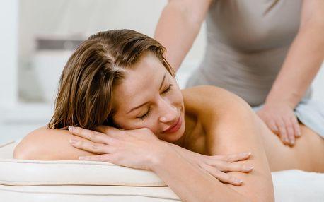 Terapeutická masáž pro odstranění stresu a napětí