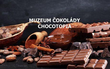 Vstup do Muzea čokolády Chocotopia s ochutnávkou
