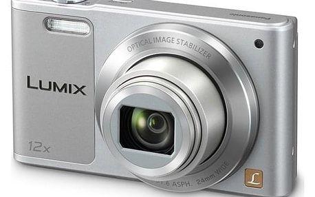 Digitální fotoaparát Panasonic Lumix DMC-SZ10EP-S stříbrný