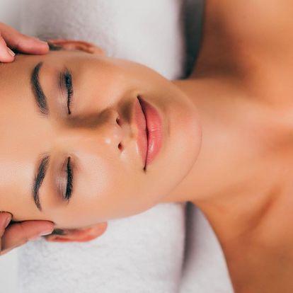Kosmetika, lift. masáž obličeje i relaxační balíček
