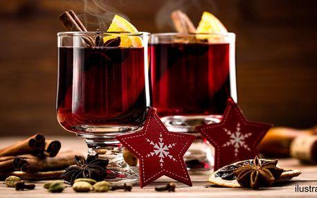 Svařené víno nebo víno z vinařství Kubík