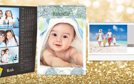 Fotokalendář z vašich fotografií