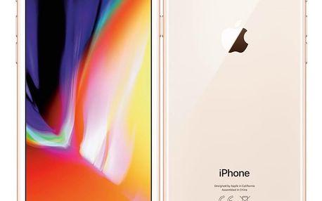 Mobilní telefon Apple iPhone 8 128 GB - Gold (MX182CN/A)