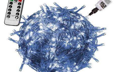 VOLTRONIC® 59738 Vánoční LED osvětlení 20 m - studená bílá 200 LED + ovladač