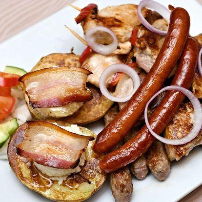 Kalemegdanský mix grill pro dva