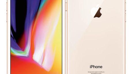 Mobilní telefon Apple iPhone 8 64 GB - Gold (MQ6J2CN/A)