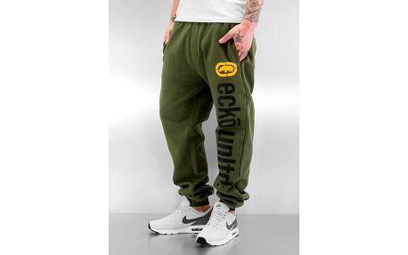 Ecko Unltd. / Sweat Pant 2Face in olive 4XL