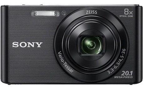 Digitální fotoaparát Sony Cyber-shot DSC-W830B černý