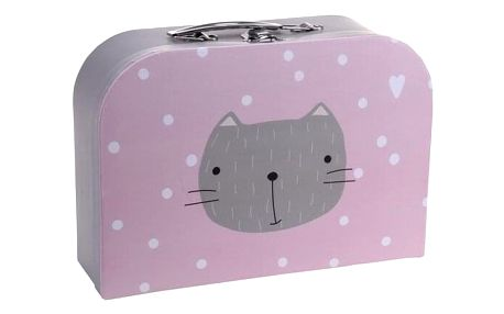 Koopman Dětský kufr Kočička, 30 x 21 x 9,5 cm