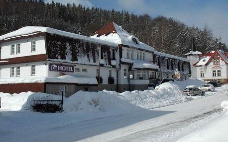 Vánoce a Silvestr v hotelu PROM v Krkonoších u Černé Hory s polopenzí