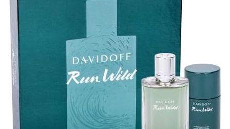 Davidoff Run Wild dárková kazeta pro muže toaletní voda 100 ml + deostick 75 ml