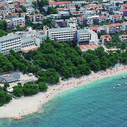Chorvatsko - Makarska na 2-5 dnů, polopenze