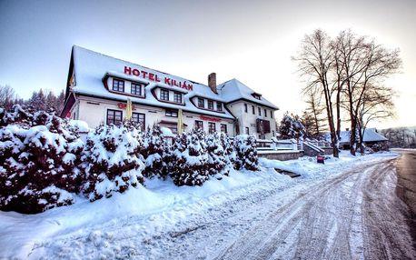 Hotel Kilián poblíž Stezky korunami stromů Lipno