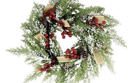 Vánoční věnec Varilla, pr. 40 cm