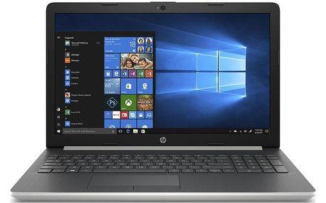 Notebook HP 15-db1604nc stříbrný (8NE84EA#BCM)