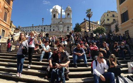 Itálie - Řím letecky na 4 dny, strava dle programu