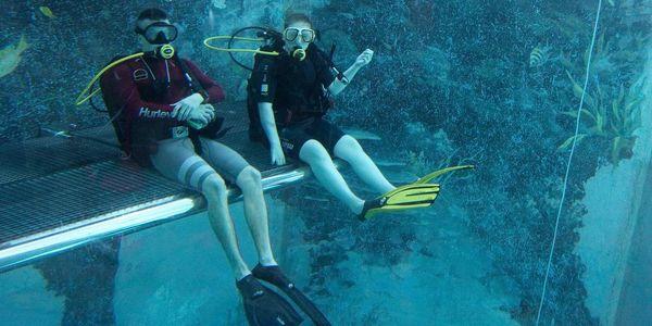Potápění na zkoušku2