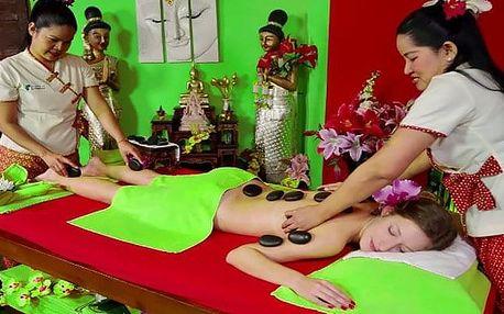 Luxusní masáž lávovými kameny s procedurou Garra Rufa