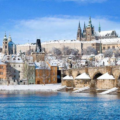 Praha romantická: apartmá s vířivkou a saunou