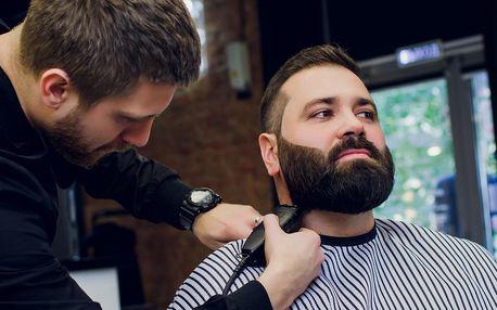 Kompletní barber péče i s možností rumové degustace