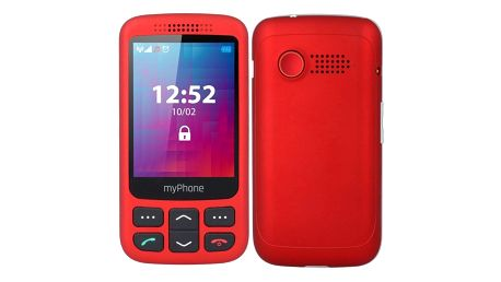 myPhone Halo S Senior červený (TELMYSHALOSRE)