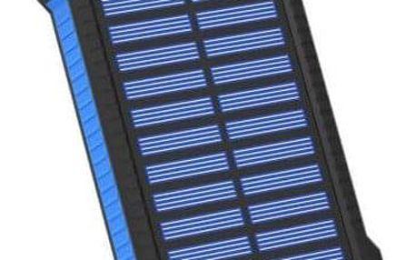 XLayer powerbank PLUS Solar 8000 mAh černá/modrá