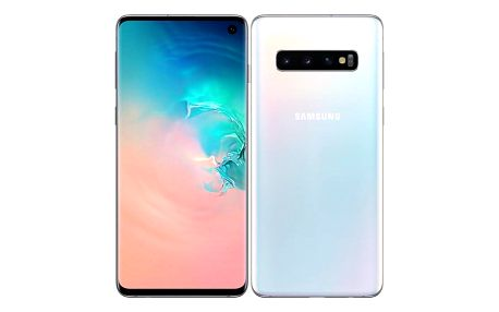 Samsung Galaxy S10 128 GB bílý (SM-G973FZWDXEZ)