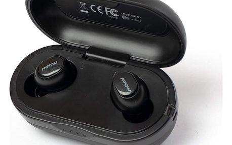 Bezdrátová sluchátka MPOW M5 s dobíjecím boxem - černá